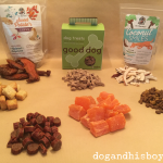 Deaf Dog Training Tip: Trail Mix!
