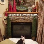A Deaf Dog's Letter to Santa