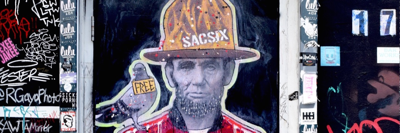 Street Artist SacSix Drops Freedom Pharrell on the Streets of Miami.