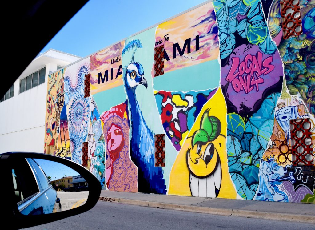 Street Art of Miami by The Graffiti Dog