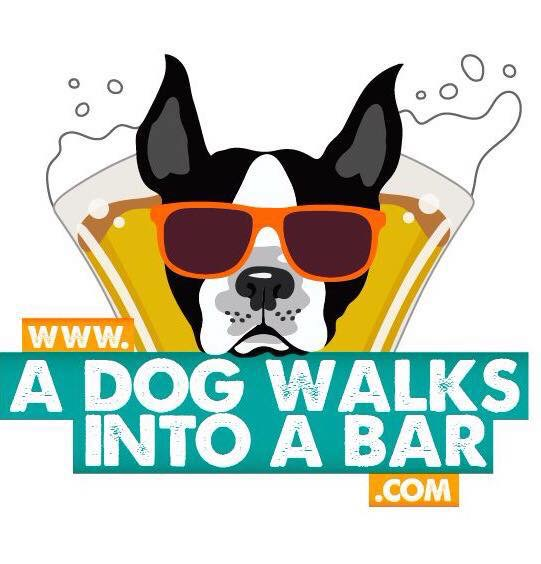 A Dog Walks Into A Bar sidebar ad on The Graffiti Dog