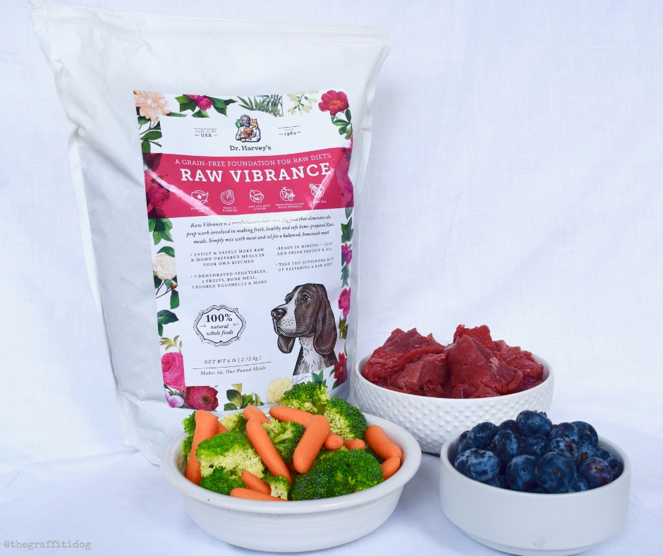 No Fuss Raw Feeding with Dr. Harvey's Raw Vibrance